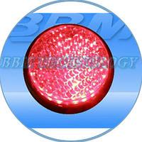 Модуль светодиодный 230В, 100 мм, красный