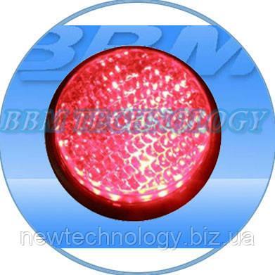 Модуль светодиодный 230В, 100 мм, красный,