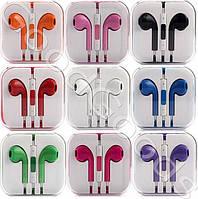 Наушники Apple EarPods цветные (Copy)
