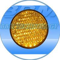 Модуль светодиодный 230В, 100 мм, желтый