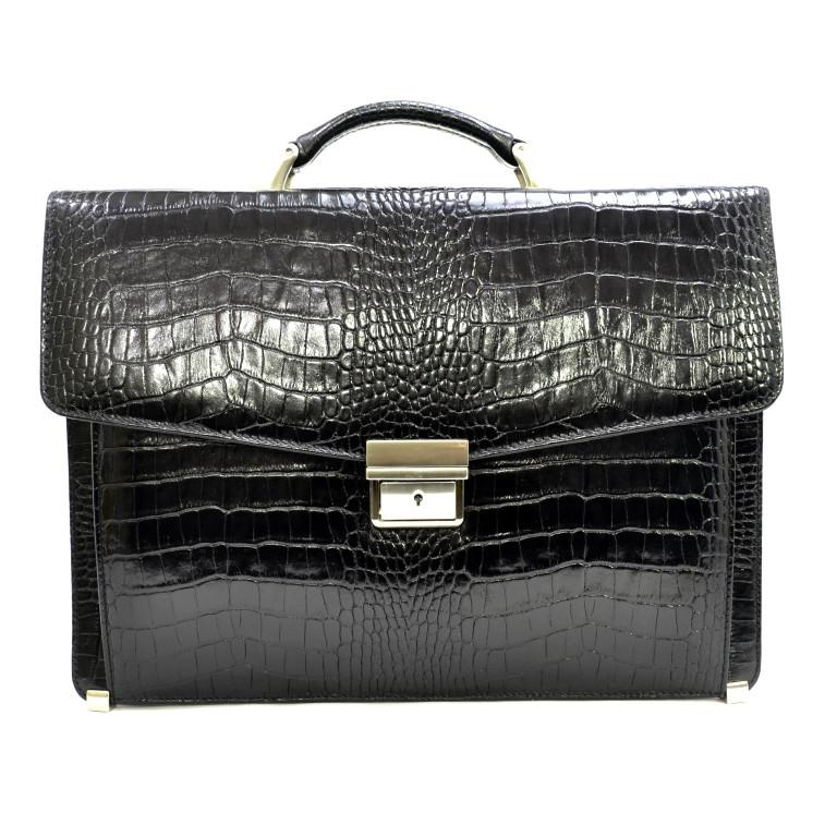 Кожаный портфель Canpellini