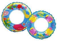 Детский надувной круг Intex 61 см   (58245)