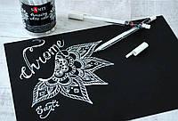 """Ручка гелевая Белая """"Amazing color"""", 420337, SANTI"""