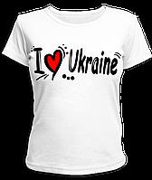 """Футболка """"I love Ukraine #2"""", фото 1"""