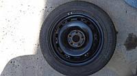 Оригинальный колёсный диск с резиной skoda fabia r15