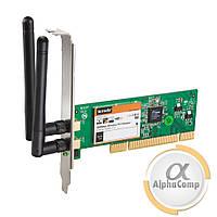 Адаптер PCI WiFi Wireless Tenda W322P v2.0 (802.11 b/g/n/300M/2 антены) б/у