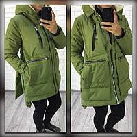 Женская зимняя куртка №157-5045 БАТАЛ
