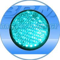 Модуль светодиодный 230В, 100 мм, зеленый