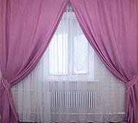 Комплект штор не дорого в магазине лён, фото 1