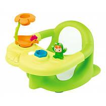 Стульчик для купания Жабка Cotoons Smoby 110615 зеленый