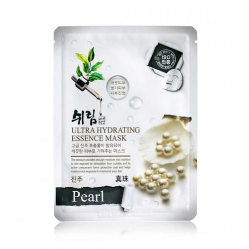 Увлажняющая тканевая маска с жемчугом Shelim Hydrating Essence Mask Pearl