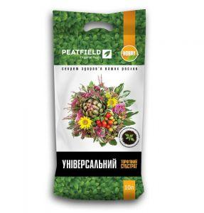 """Торфяной субстрат """"Универсальный"""" PEATFIELD, 10 л — выращивание рассады и цветов"""