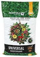 """Торфяной субстрат """"Универсальный"""" PEATFIELD ,6 л -выращивание рассады и цветов"""
