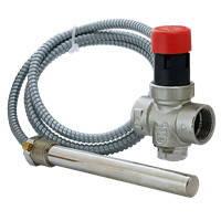 """Защитный термостатический клапан перегрева Esbe VST 100 3/4"""", датчик 1/2"""" 95°C, щуп 150мм, капилляр 1300мм (арт. 36027000)"""