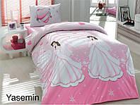 Полуторное детское постельное , хлопок ранфорс. Altinbasak (Турция), Yasemin - полуторный
