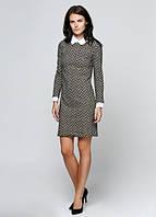 4357 Платье бежевое: imprezz.com.ua