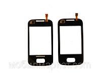 Сенсорный экран для Samsung Galaxy trend Duos S7562 Чёрный Хорошая копия AA