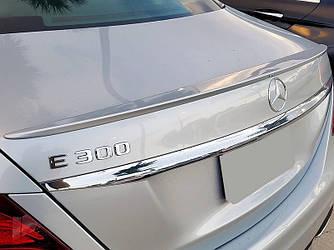 Спойлер сабля Mercedes w213 стиль AMG (пластик)
