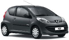 Peugeot (Пежо) 107