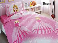 Полуторное детское постельное , хлопок ранфорс. Altinbasak (Турция), Sinem - полуторный