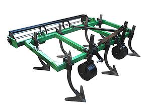 Культиватор сплошной обработки  с катком для минитрактора , фото 2