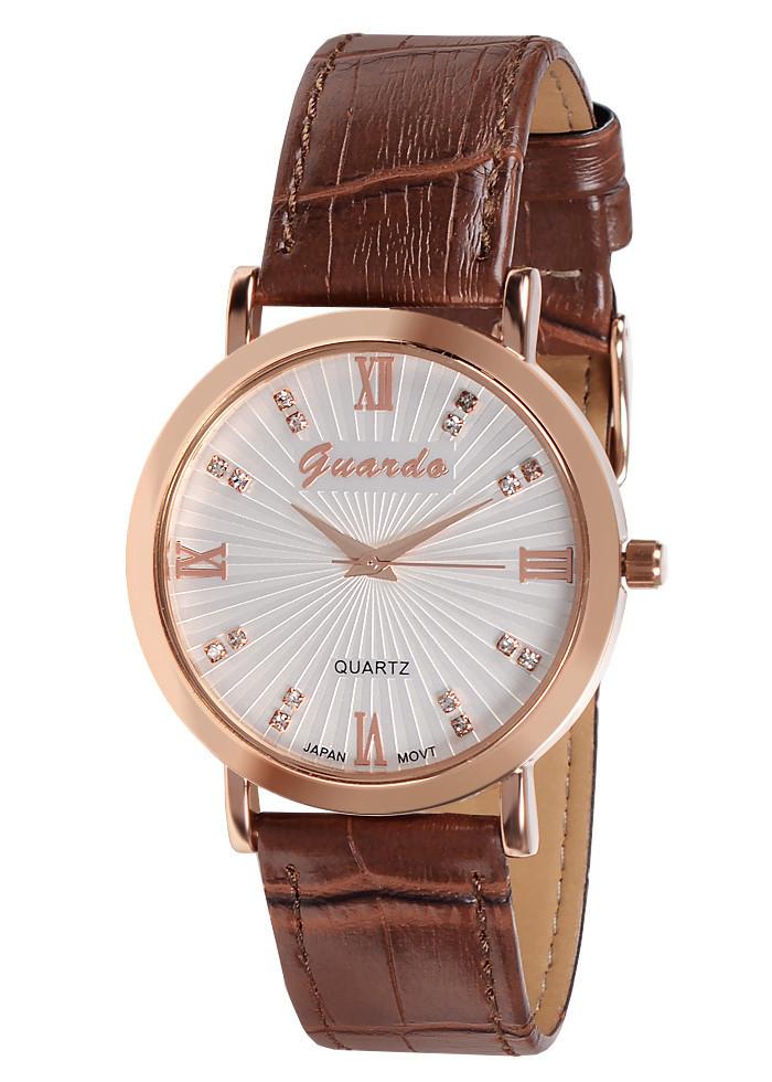 Жіночі наручні годинники Guardo 03329 RgWBr