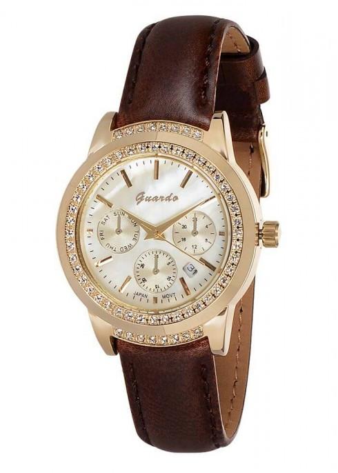 Женские наручные часы Guardo 06150 GWBr