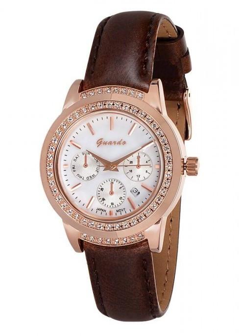 Жіночі наручні годинники Guardo 06150 RgWBr