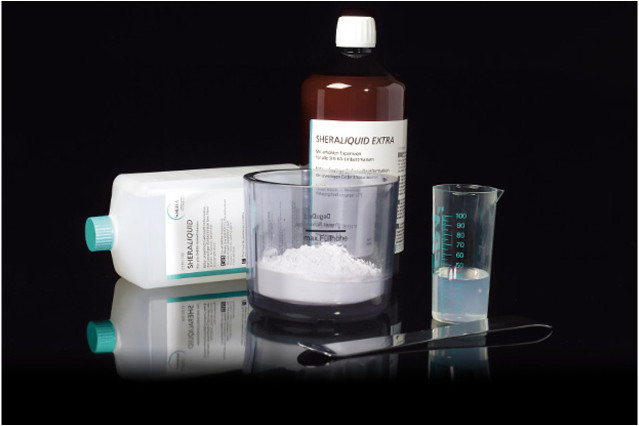 Жидкость для паковочных масс SHERALIQUID, 1л