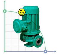 Насос центробежный нержавеющий для водоснабжения, отопленияIHG 80-160 Ex