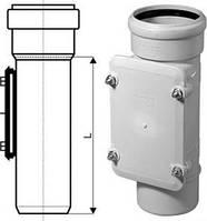 Ревизия канализационная Ostendorf 100 мм (арт. 335600) (внутренняя бесшумная канализация)