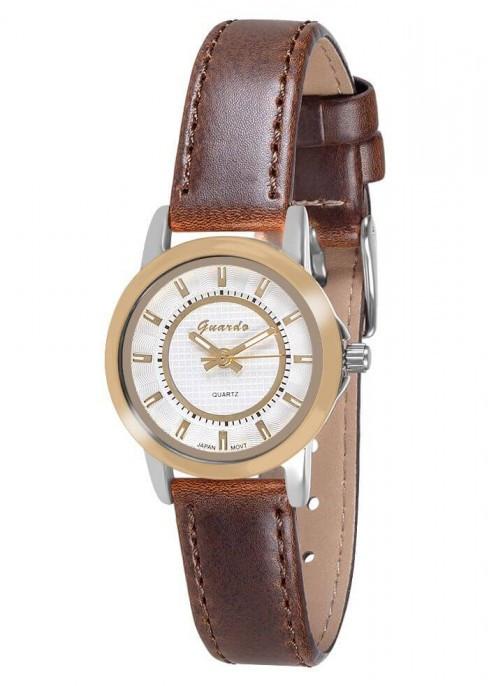 Жіночі наручні годинники Guardo 10523 GsWBr