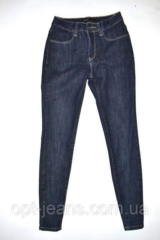 X&D 8045 джинсы женские АМЕРИКАНКА (25-30/6ед.) Осень 2017