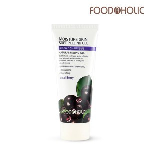 Мягкий натуральный пилинг- гель  Food a Holic Soft natural peeling gel Acai Berry, 180 мл