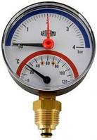 Термоманометр радиальный Arthermo (TI110 80 0-4Bar 0-120°C)