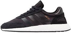 Мужские кроссовки Adidas Iniki Boost Core Black