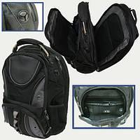 """8801 Рюкзак молодежный """"Black"""" 3отд, орг.,отд.для ноут.,уплотн.спин., 47*35*20см"""