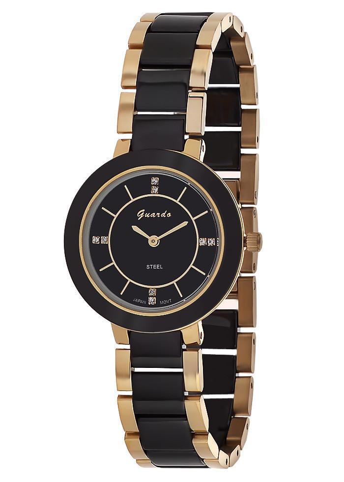 Жіночі наручні годинники Guardo S09294(m) GB