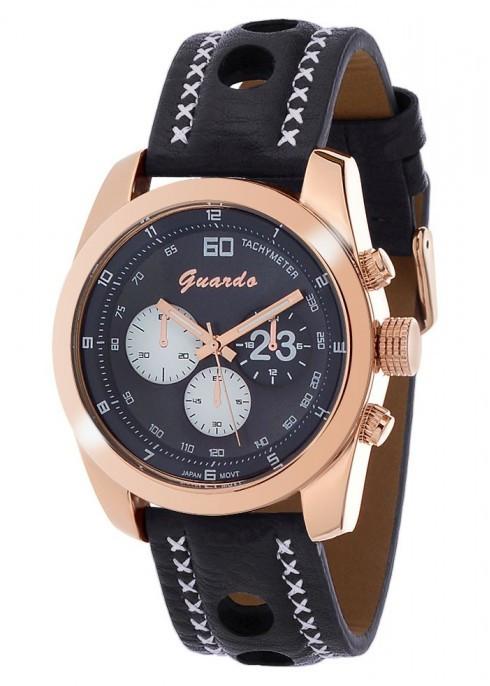 Мужские наручные часы Guardo 01383 RgBlwBl