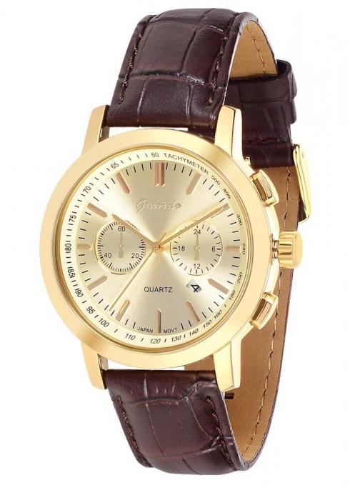 Чоловічі наручні годинники Guardo 01391 GGBr