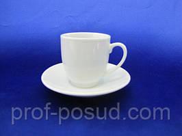 Чашка кофейная с блюдцем 75мл (12шт. в уп.)