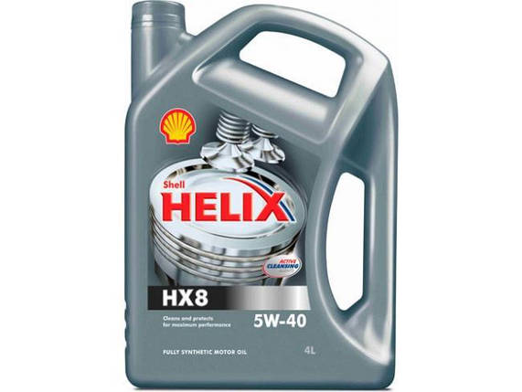 Масло моторное  Shell Helix HX8 Synthetic 5W-40 4л, фото 2