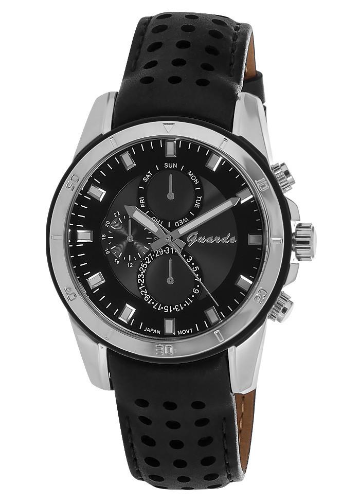 Чоловічі наручні годинники Guardo 05799 SBB