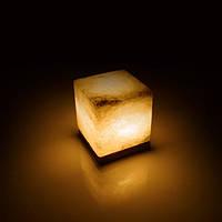 Соляная лампа BactoSfera SALTKEY CUBE обычная 3,5 - 4 кг