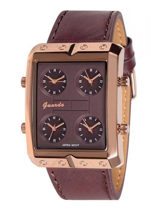 Чоловічі наручні годинники Guardo 07754 BrBrBr