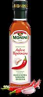 Оливковое масло с пикантным перцем Monini Aglio e Peperoncino extra vergine, 250 мл.