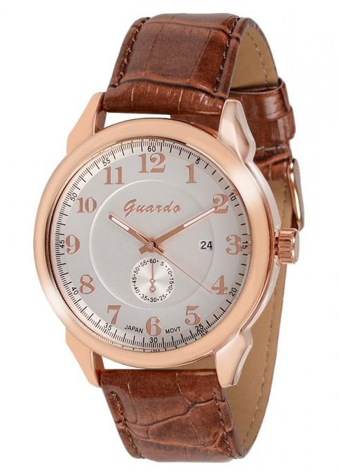 Мужские наручные часы Guardo 09388 RgWBr