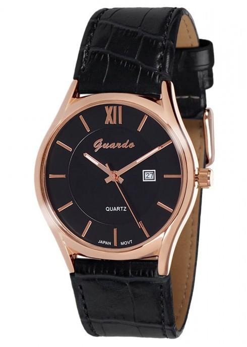 Чоловічі наручні годинники Guardo 09478 RgBB