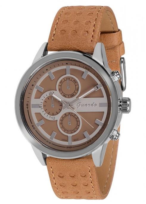 Чоловічі наручні годинники Guardo 09722 SEE