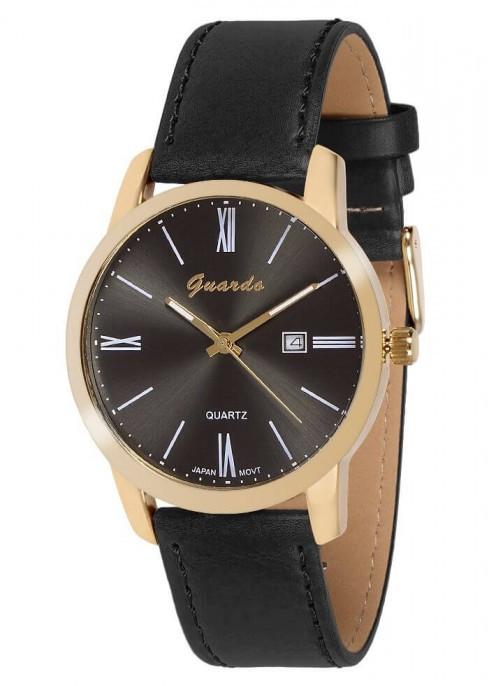 Чоловічі наручні годинники Guardo 09905 GBB